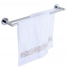 Máng treo khăn đôi Inox SUS 304 Eurolife EL-B4 (trắng bạc)