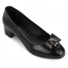 Giày bít tròn thời trang 5050BT0008 Sablanca (đen)