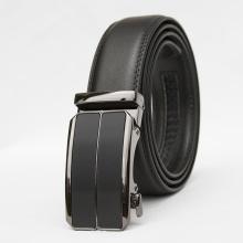 Thắt lưng dây nịt nam da bò 2 lớp Manzo 901  - tặng móc khóa da bò