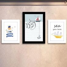 Combo 3 khung ảnh hoạt hình đáng yêu | khung hình đẹp – WK111