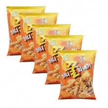Snack quẩy xoắn Selco Food Hàn Quốc 220g/gói - Combo 5 gói