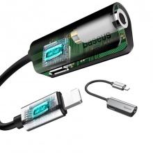 Bộ chuyển cổng Lightning sang Audio 3.5mm  tích hợp cổng sạc Baseus L32 cho iPhone