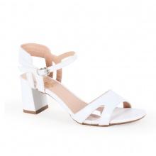 Sandal cao gót thời trang nữ Erosska EM009 ( Trắng)
