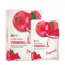 Mặt nạ dưỡng chống nhăn tinh chất lựu xay đông lạnh - SNP Fruits Gelato Firming Mask
