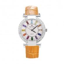 Đồng hồ nữ chính hãng Royal Crown 4604 dây da cam