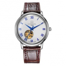 Đồng hồ nam dây da Carnival G50801.314.033