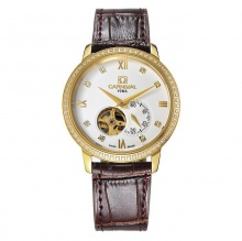 Đồng hồ nam dây da Carnival G50804.301.333