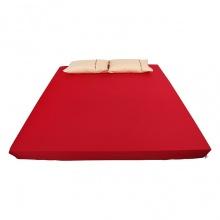 Ga bọc đệm và vỏ gối đơn ( 1 màu ) 120 x 190 cm - đỏ