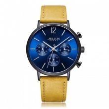 Đồng hồ nam JAH-101 Julius Hàn Quốc dây da
