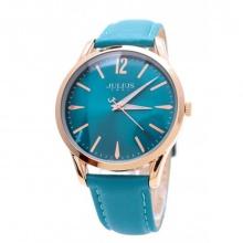 Đồng hồ nam Julius Hàn Quốc dây da JA-983ME JU1207 (xanh)