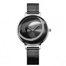 Đồng hồ nữ chính hãng Shengke Korea K0088L-03 Đen