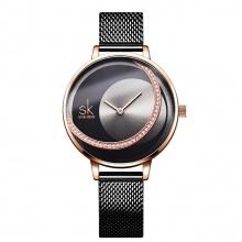 Đồng hồ nữ chính hãng Shengke UK K0088L-04 Đen-RG