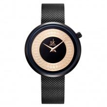 Đồng hồ nữ chính hãng Shengke UK K0094L-01 Đen
