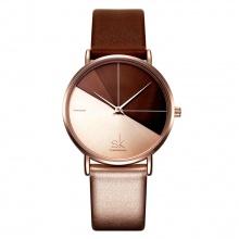 Đồng hồ nữ chính hãng Shengke Korea K0095L-02 nâu
