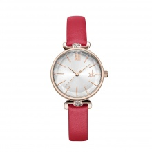 Đồng hồ nữ chính hãng Shengke Korea K8067L-04 Đỏ