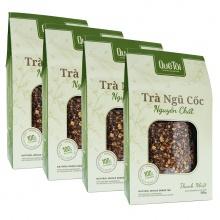 Combo 4 hộp trà ngũ cốc nguyên chất quê tôi (330g/hộp)