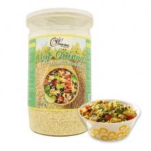 Hạt quinoa (diêm mạch) trắng smile nuts hộp 500g