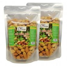 Combo 2 túi hạnh nhân mỹ rang bơ smile nuts (500g/túi)