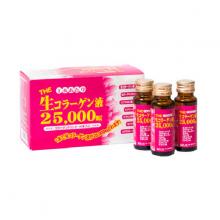 Nước uống bổ sung collagen tươi làm đẹp da, chống lão hóa Collagen Inter Techno 25000mg, collagen nước hàm lượng cao Nhật Bản