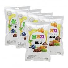 Bánh gạo mạch Rice Crunch Songlim Hàn Quốc 84g/ gói - combo 5 gói
