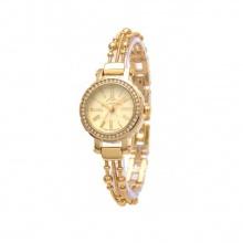 Đồng hồ nữ Julius  Hàn Quốc dây thép JA-809B JU979 vàng