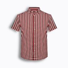 Áo sơ mi nam tay ngắn họa tiết The Shirts Studio Hàn Quốc TD12F2326RE size 95