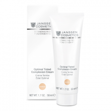Kem che khuyết điểm 3 trong 1 - Janssen Cosmetics Optimal Tinted Complexion Cream SPF 15