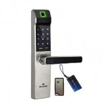 Khóa cửa vân tay thẻ mật mã điều khiển Baling NF21 (màu bạc)