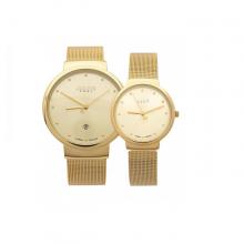 Đồng hồ đôi Julius JA-426 vàng