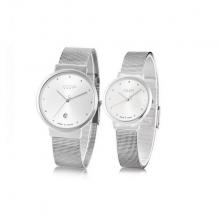 Đồng hồ cặp chính hãng JuliusJA-426D Ju052 (Bạc)