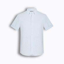 Áo sơ mi nam tay ngắn họa tiết The Shirts Studio Hàn Quốc TD45F6119BL