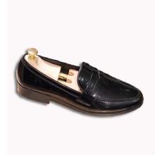 Giày lười nam đẹp băng khuyết da bóng rất sang trọng - M367-BONG