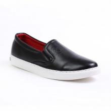 Giày slip on nam Aroti đế khâu chắc chắn  phong cách đơn giản màu đen - M498-DEN