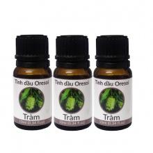 Combo 3 lọ tinh dầu tràm gió hữu cơ nguyên chất (10ml) - Oresoi tinh dầu hữu cơ