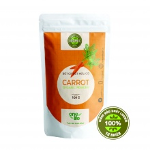 Bột cà rốt hữu cơ (organic) onelife nhập khẩu 100% từ mỹ- bịch 100 gr