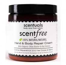 Kem Dưỡng Da Toàn Thân Scentuals Không Mùi - Scentfree Hand & Body Repair Cream 250ml