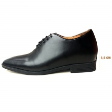 Giày tây tăng chiều cao da bò thật chính hãng GELELI