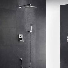Cặp đôi sen tắm và vòi lavabo âm tường KM668