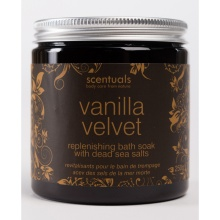 Muối tắm Scentuals hương Vanilla velvet