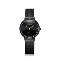 Đồng hồ nữ Julius Hàn Quốc JA-426LD dây thép ( đen)
