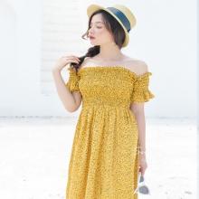 Đầm maxi hoa nhí Kimi  - ad190033