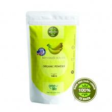 Trái cây sạch -  Bột chuối hữu cơ Onelife (Nhập khẩu 100% từ Mỹ) - Bịch 100gr