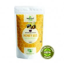 Bột mật ong tự nhiên từ hoa hạt dẻ Hàn Quốc Onelife (Nhập khẩu 100% từ Hàn Quốc) - bịch 100gr