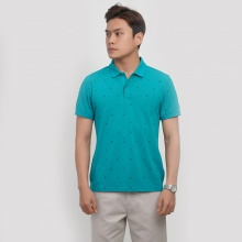 Áo polo ngắn tay Aristino APS037S8 màu xanh lá 2 in
