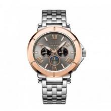 Đồng hồ nam 6 kim jah-102c julius hàn quốc dây thép (đồng)