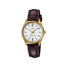 Đồng hồ Casio nữ dây da LTP-V005GL-7BUDF