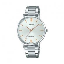 Đồng hồ Casio nữ dây thép LTP-VT01D-7BUDF