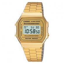 Đồng hồ Casio unisex dây thép A168WG-9WDF