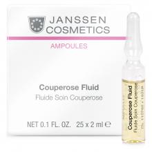 Tinh chất trị vỡ mao mạch - Janssen Cosmetics Couperose Fluid 25 ống*2ml