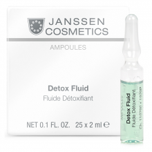 Tinh chất giải độc tố cho da - Janssen Cosmetics Detox Fluid 25 ống*2ml